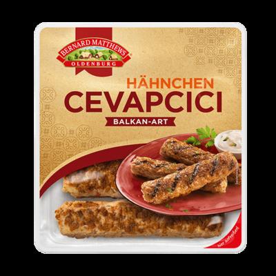 Überbackene Hähnchen-Cevapcici mit serbischer Sauce