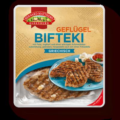 Geflügel-Bifteki mit Tomatenreis